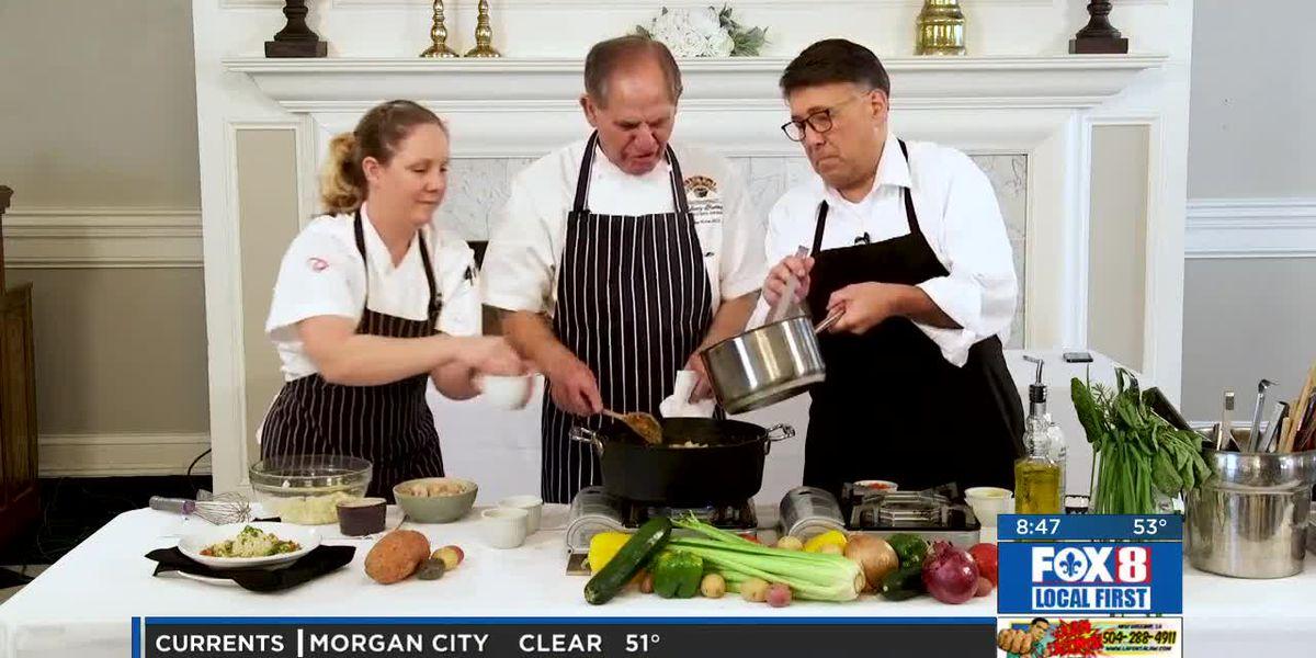 Chef Folse: Mamere's potato, shrimp and andouille stew