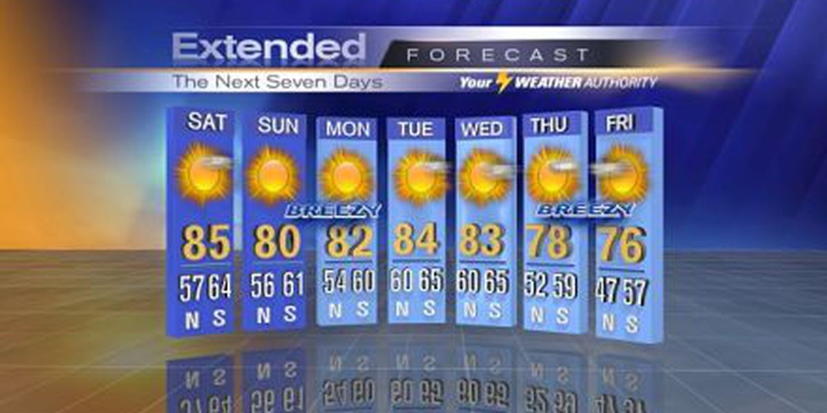 Nicondra: Another gorgeous day on tap