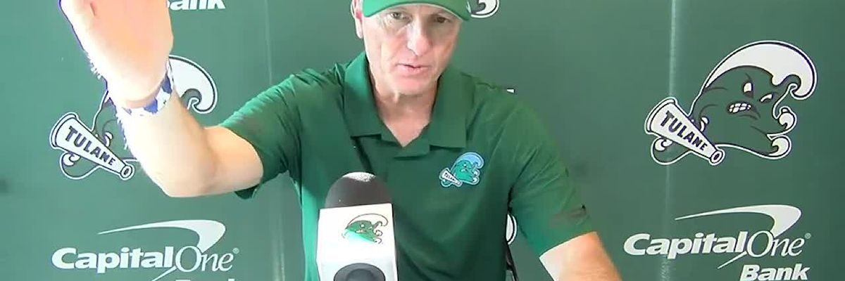 Coach Fritz reacts to Tulane's big win over Army