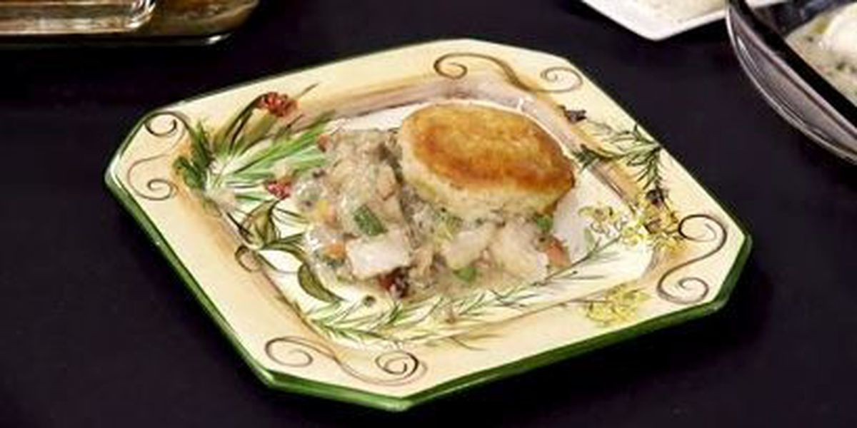 Chef John Folse: Catfish pot pie with vegetables