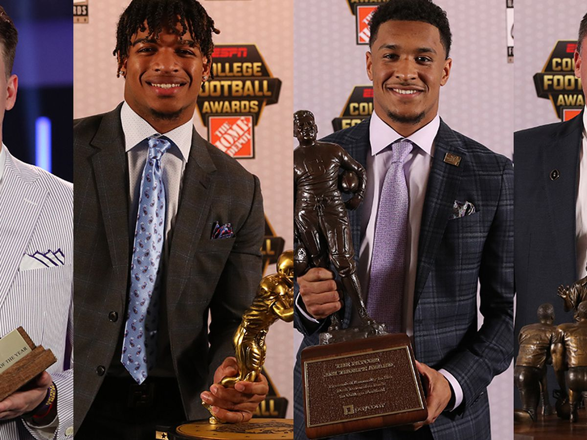 LSU sweeps college football awards