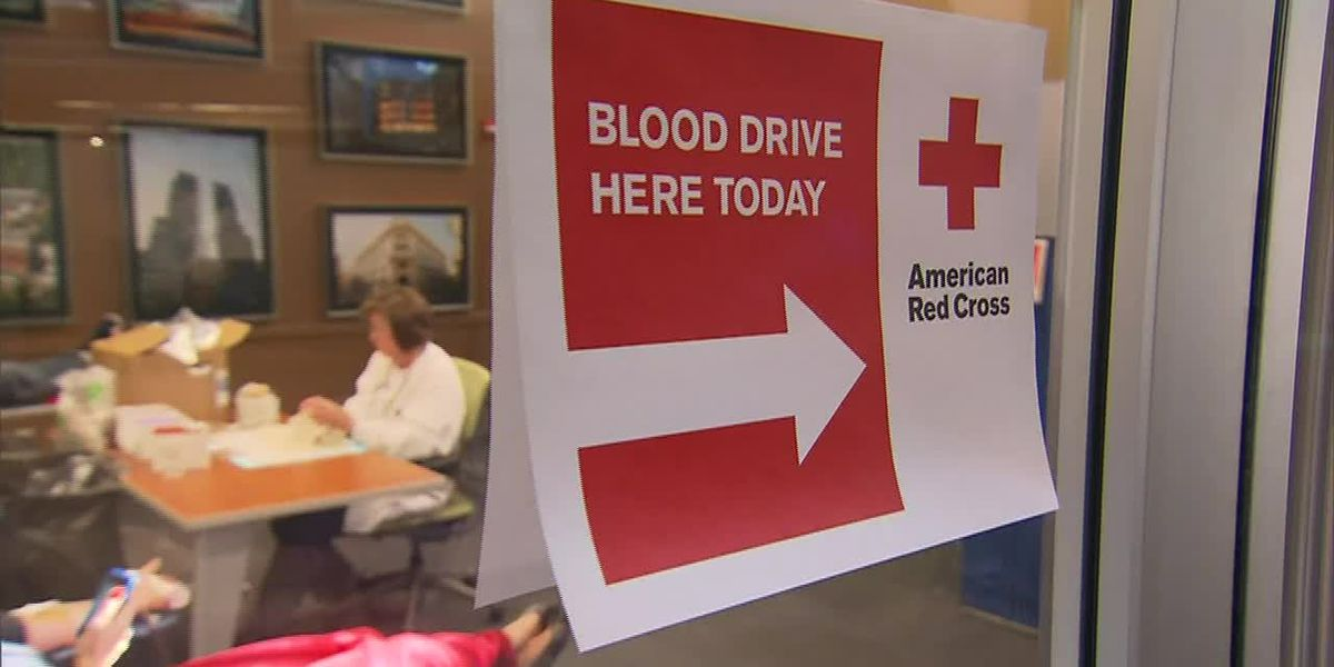 Blood supplies low, donations needed
