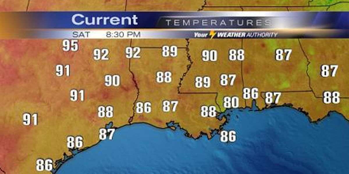 Nicondra: A few heavy storms, but still hot through the day