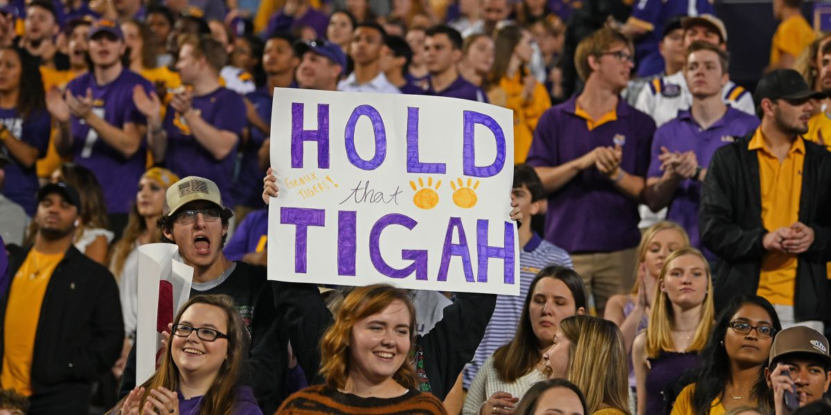 LSU switches to mobile ticketing for 2020 football season