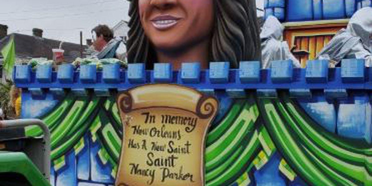 Krewe of King Arthur unveils float honoring Nancy Parker