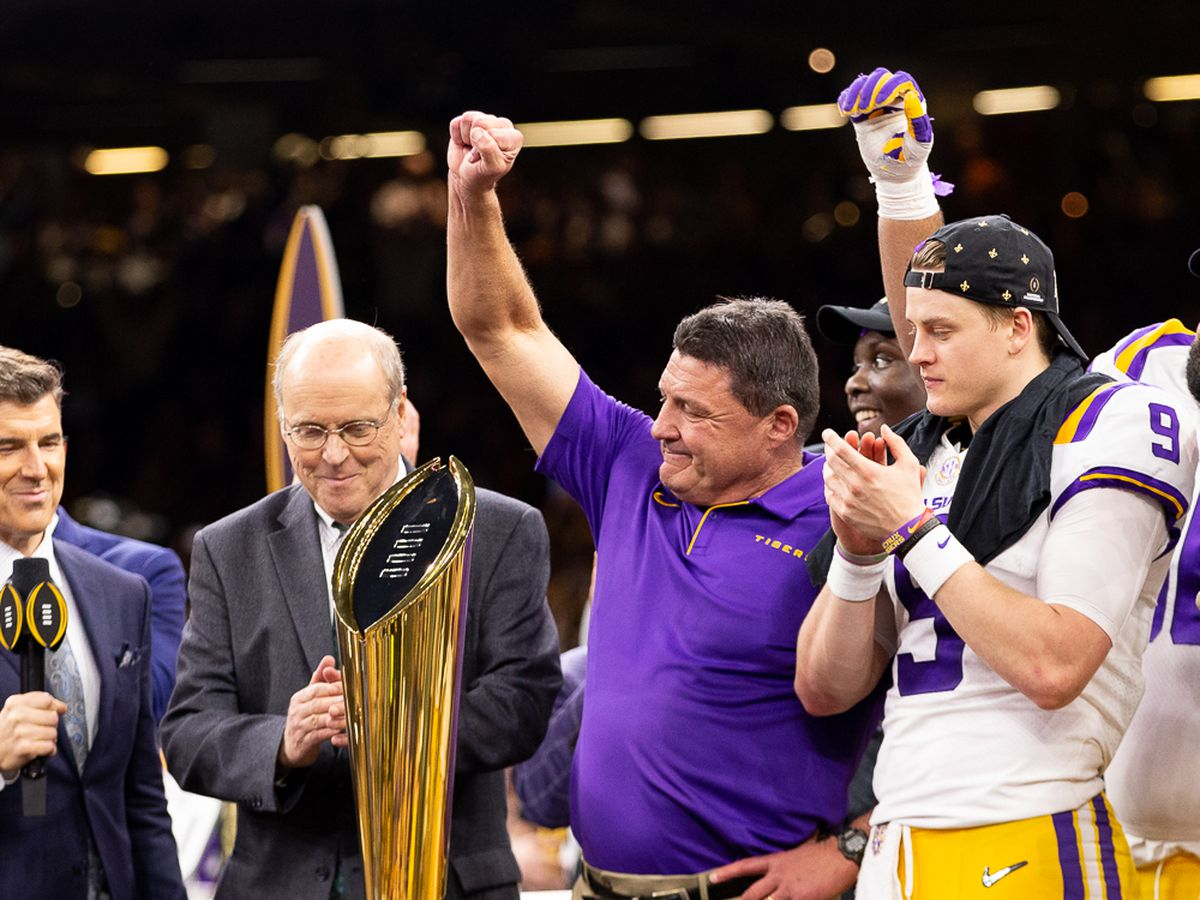 Juan's World: LSU Wins the Natty
