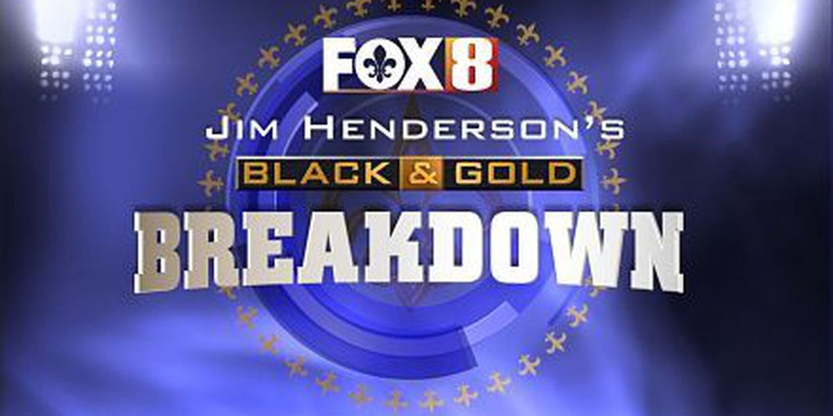 Jim Henderson's Black & Gold Breakdown: Bengals at Saints