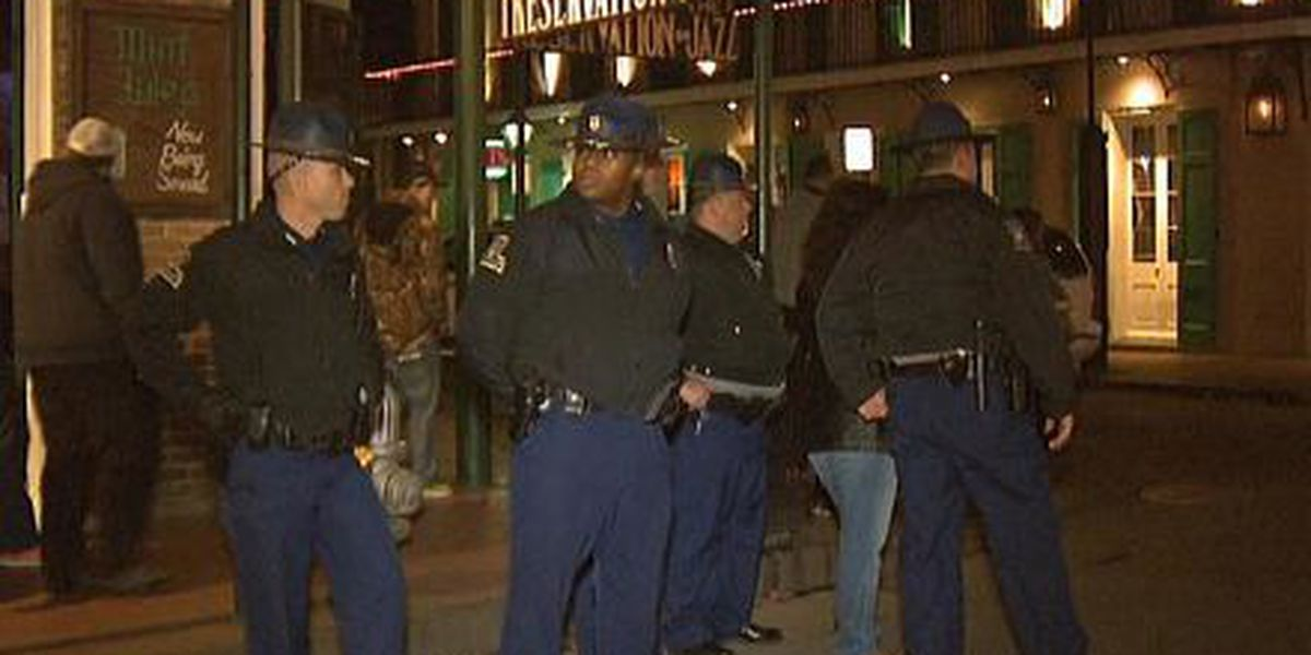 Tax proposed for state police patrol in French Quarter