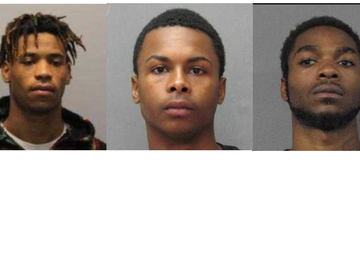 3 men arrested on drug, weapon charges in Chalmette