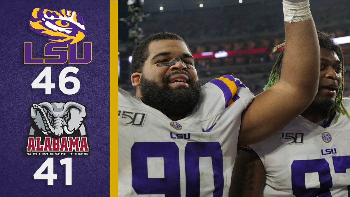 Overtime Podcast #100 - LSU overcomes Alabama to end 8-game skid