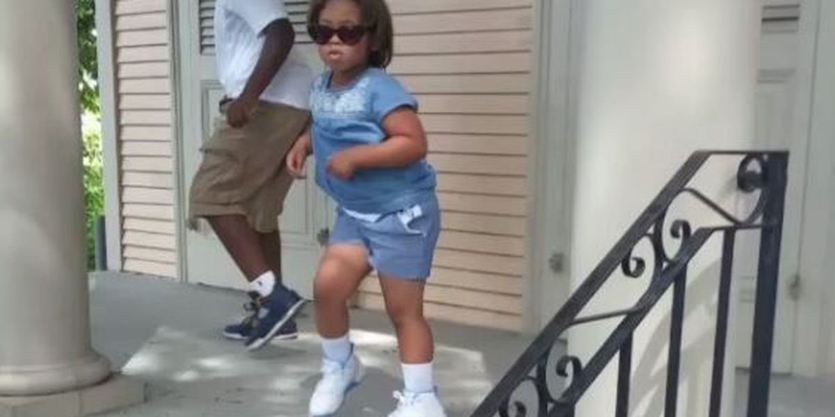 Video: Young girl makes some serious moves at Broad Street second-line