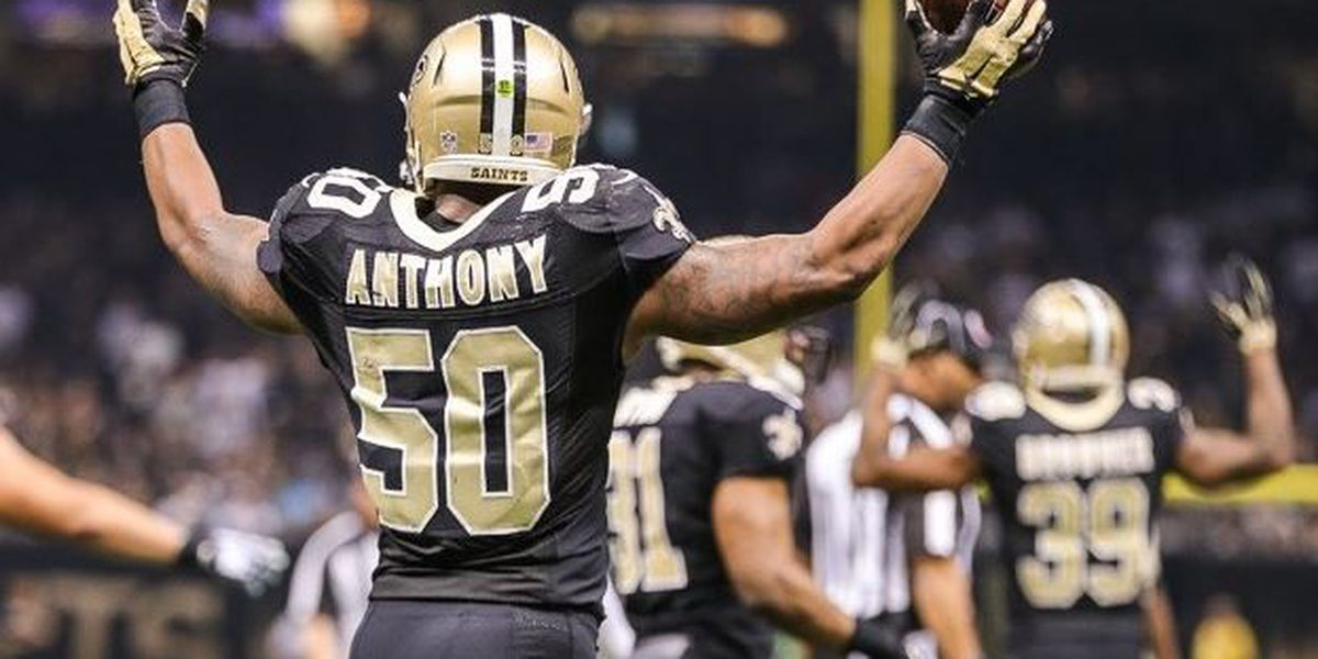 Saints trade LB Stephone Anthony to Dolphins