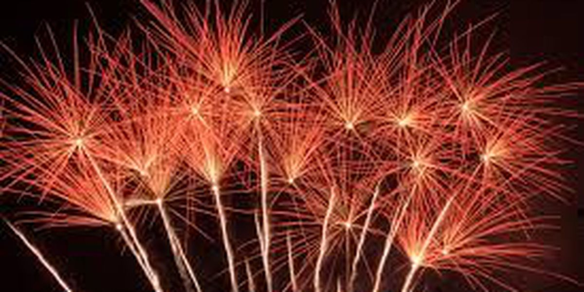Fireworks can only be set off during certain hours in St. Charles Parish