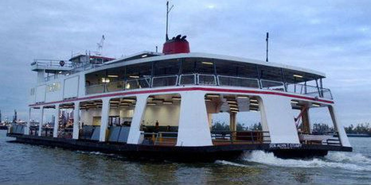Work to close Chalmette Ferry over the weekend