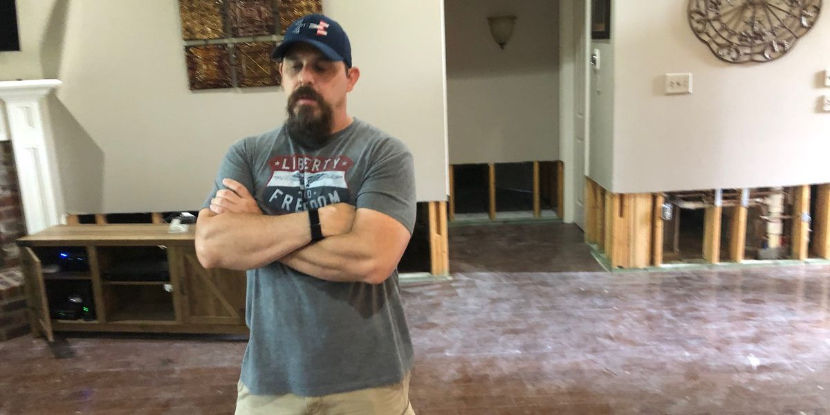 Northshore flood victims deal with tough recovery have latest deluge