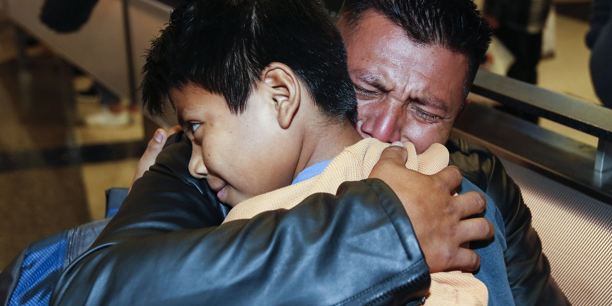 9 parents separated from families return to children in US