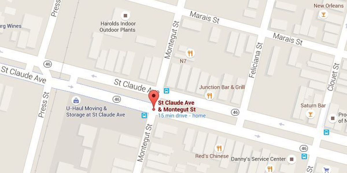 Man shot early Wednesday near St. Claude Avenue
