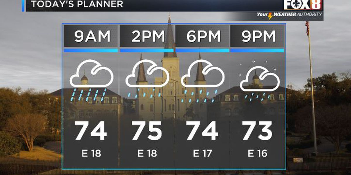 Shelby: Beta Keeps Rain & Wind in the Forecast
