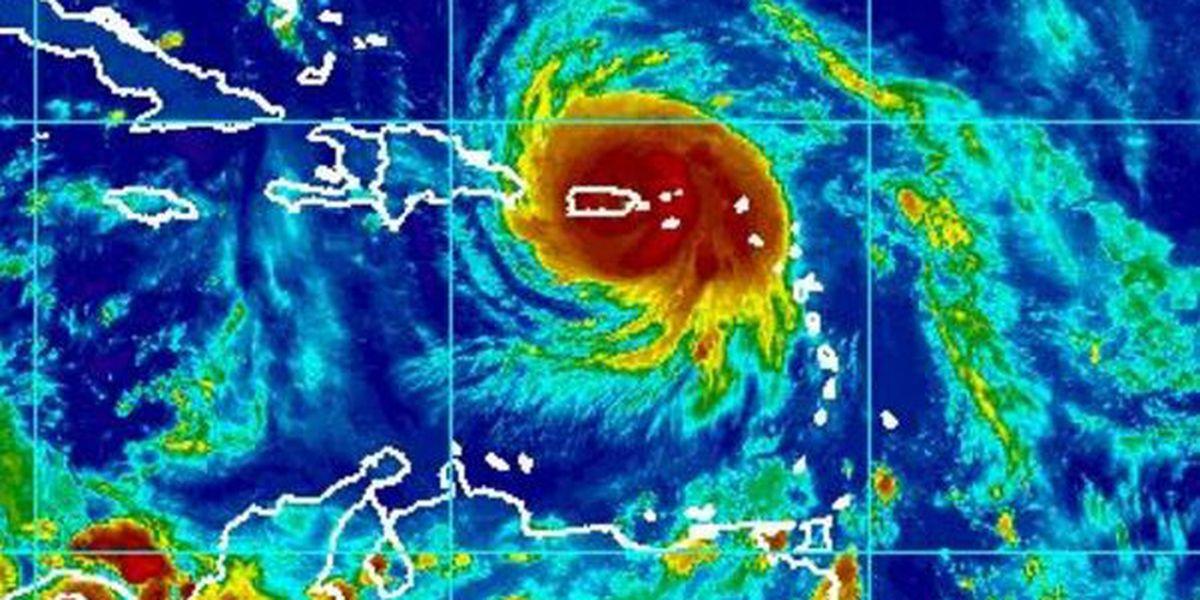 Hurricane Maria is lashing Puerto Rico as eye makes landfall