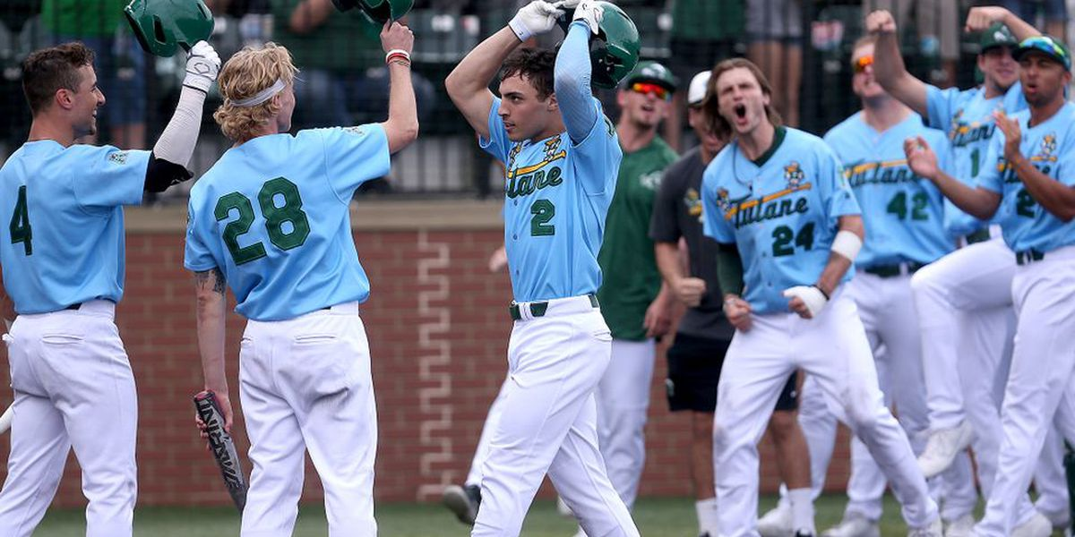 Tulane hits walk-off HR to even series with Ole Miss