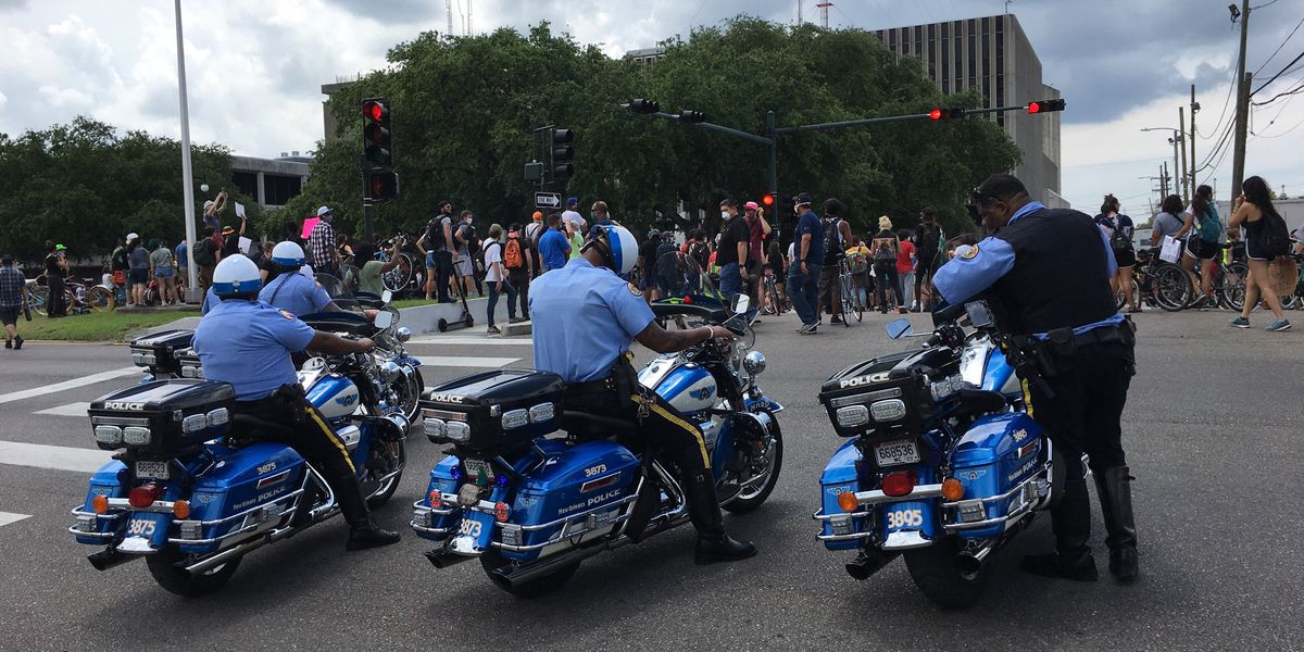 NOPD Chief thanks citizens for peaceful protests