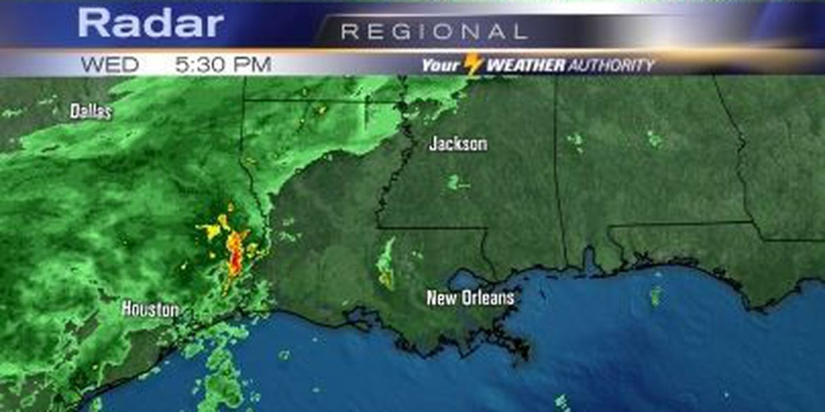 Bob: Cold front coming...any rain?