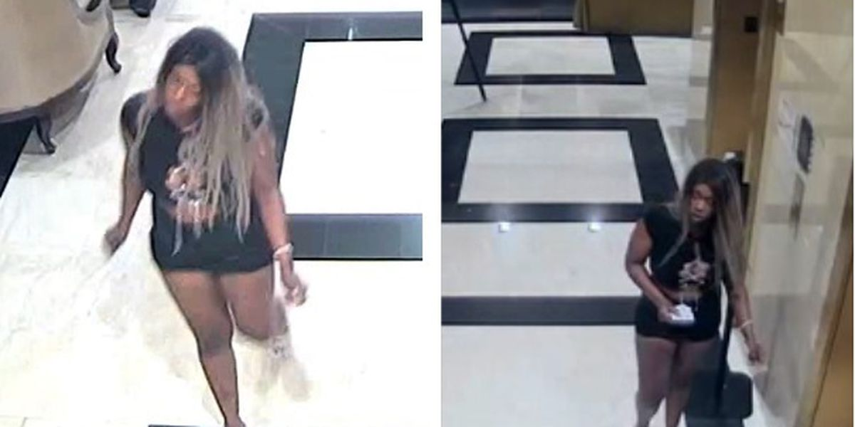 Surveillance video released of woman accused of cutting two people at Willie's Chicken Shack