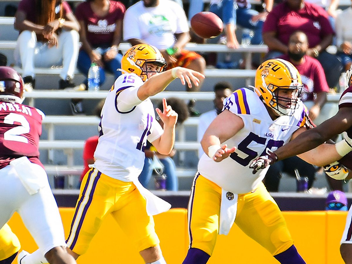 Five takes from LSU QB Myles Brennan's performance