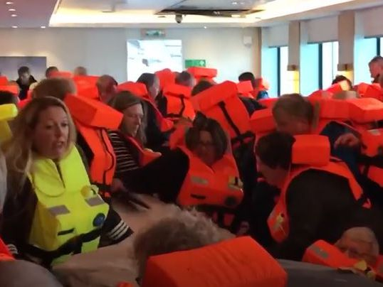 Helicopters rescue Norway cruise ship passengers amid storm