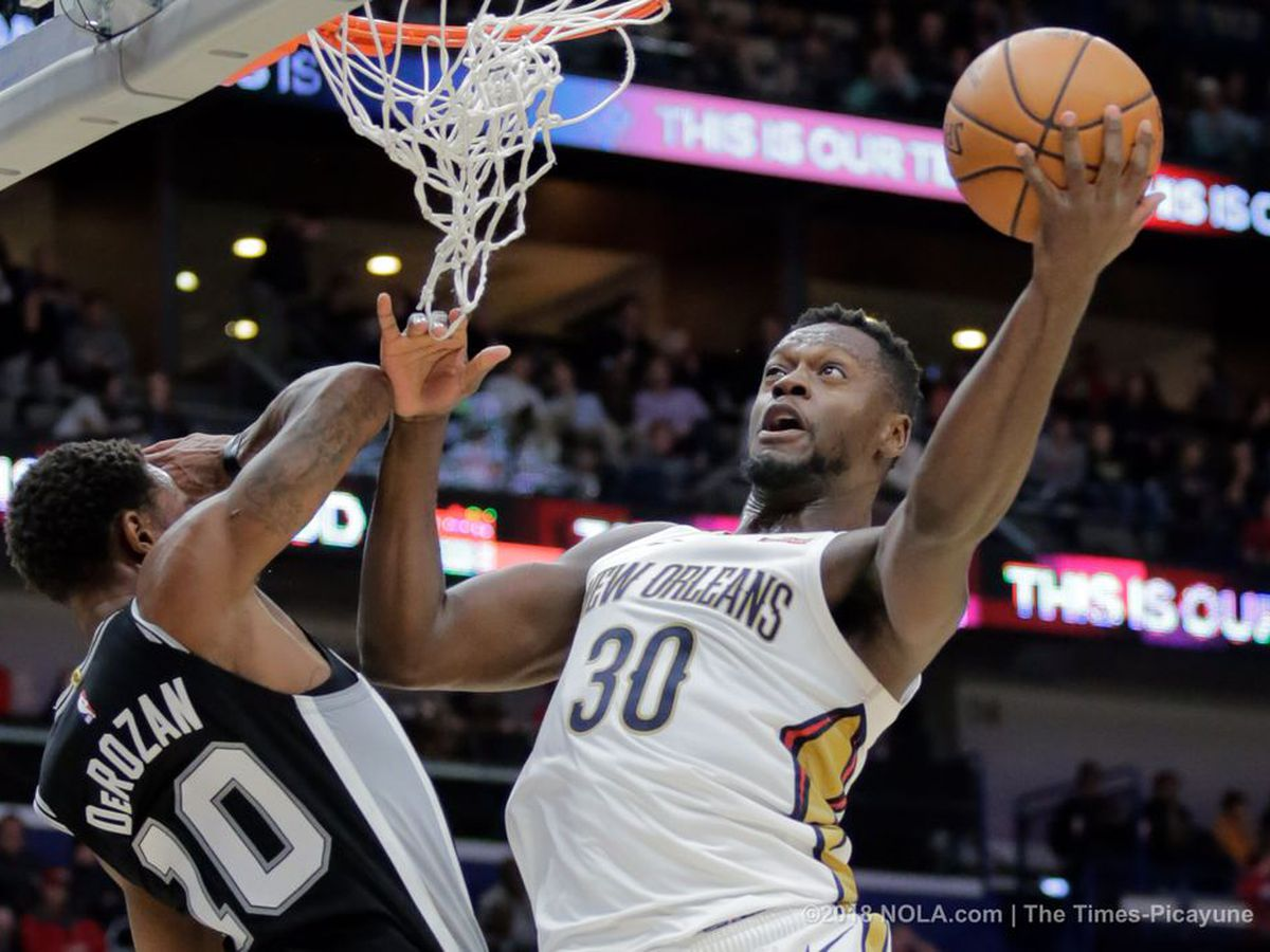 Julius Randle drops a triple-double on the Spurs, Pels win streak moves to 3 games