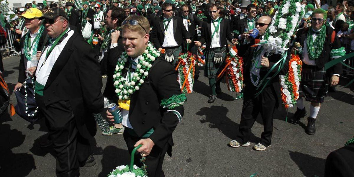 St. Joseph & St. Patrick's Day Parade routes