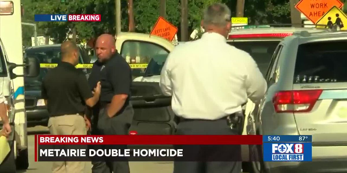 JPSO investigates double fatal shooting in Metairie