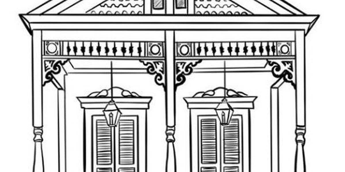 - Local Artist Offers Free Louisiana Themed Coloring Pages While Activities  Are Limited