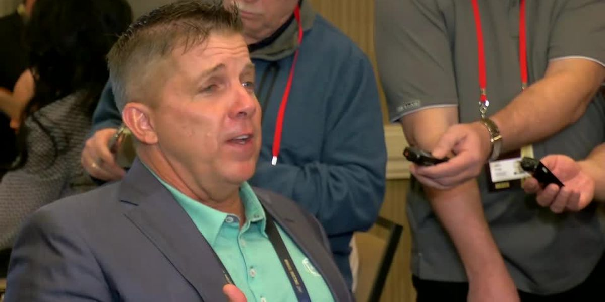 Part 2 of Payton at Owners' Meetings: Saints coach breaks down replay options