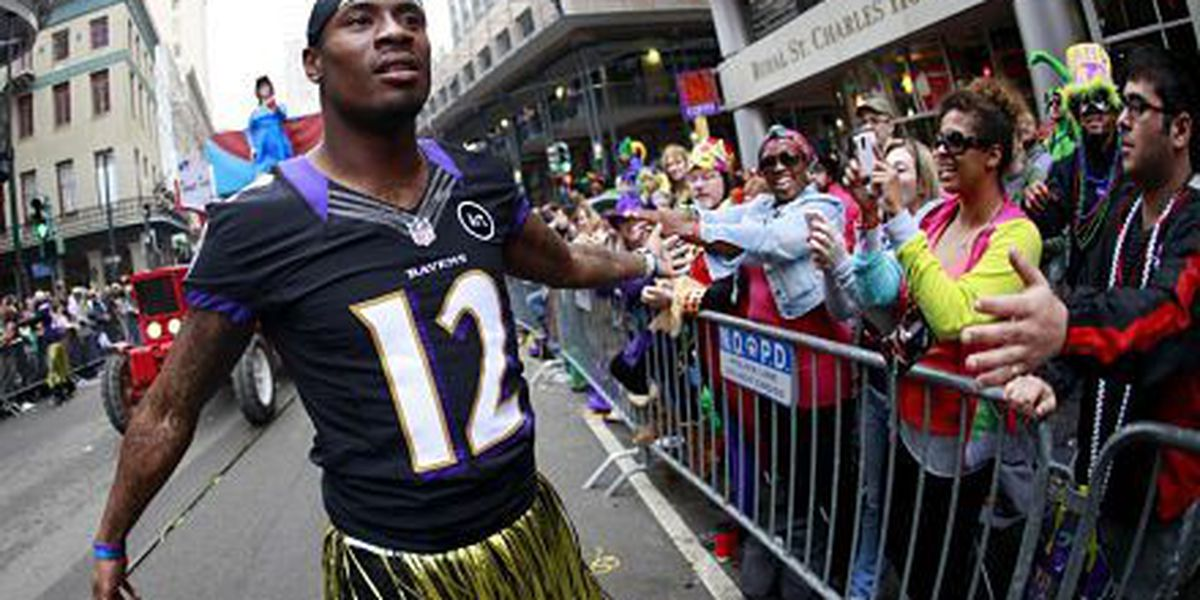 New Orleanian Jacoby Jones cut by Ravens