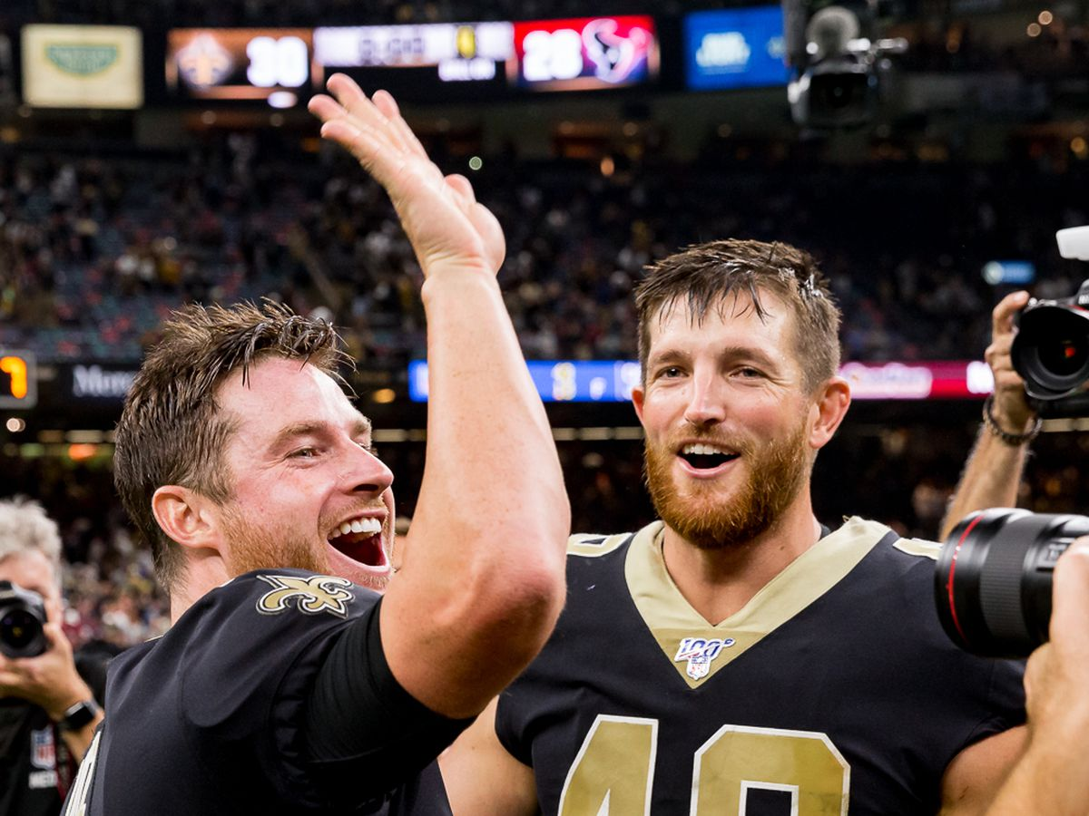 Wil Lutz named NFC Special Teams Player of Week 1