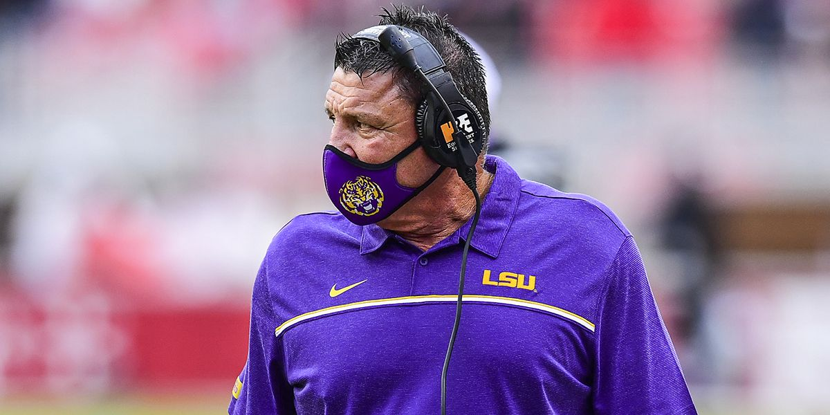 'We take a lot of pride in this football game' - Orgeron says LSU ready to face Texas A&M