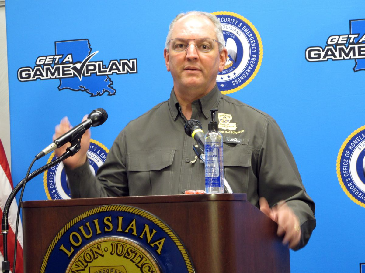 VIDEO: Gov. Edwards news conference on Zeta and impacts for Louisiana