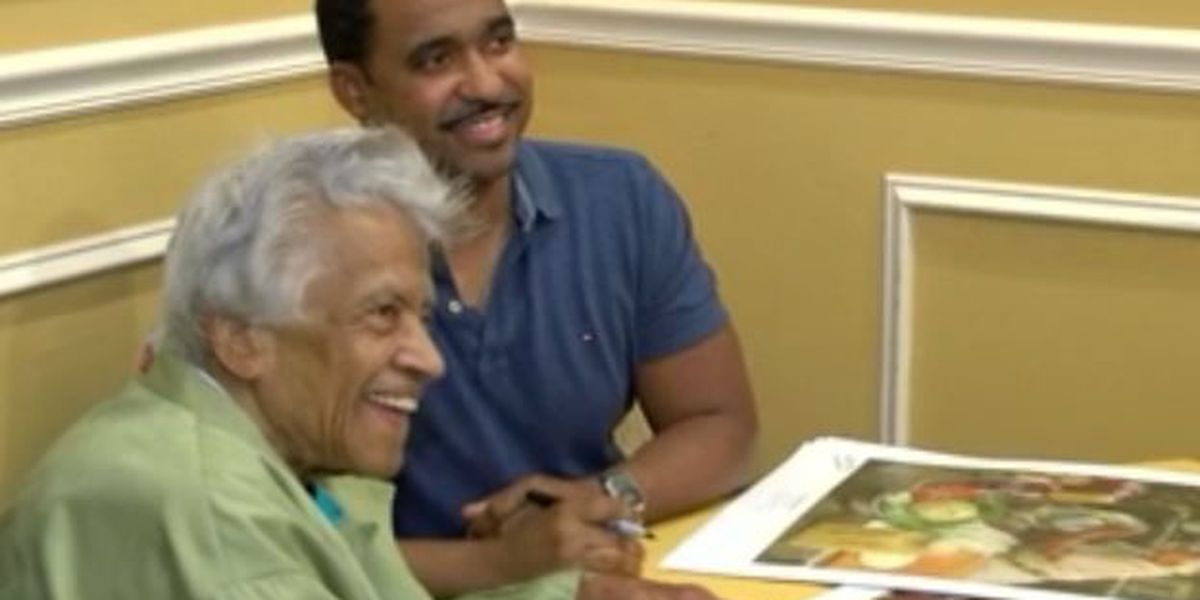 Chef Leah Chase signs up to help charity