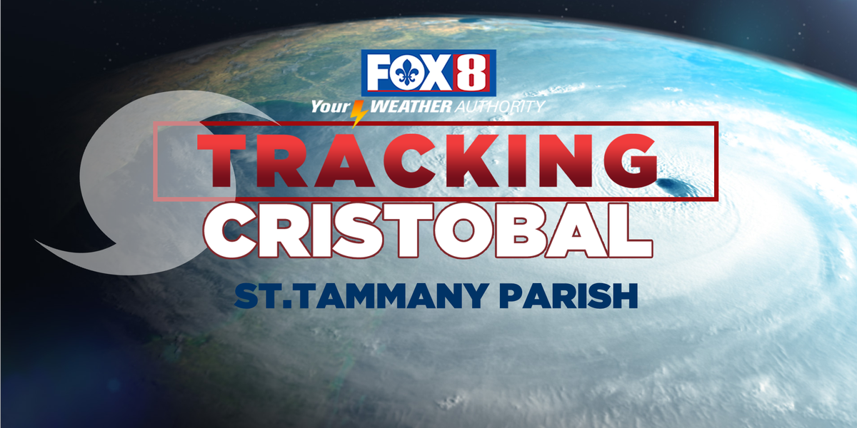 St. Tammany Parish news conference on Tropical Storm Cristobal