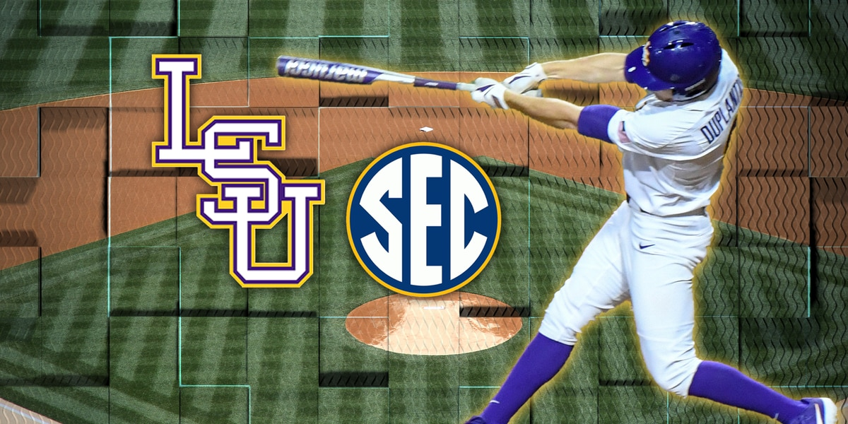 SEC baseball standings and weekend schedule