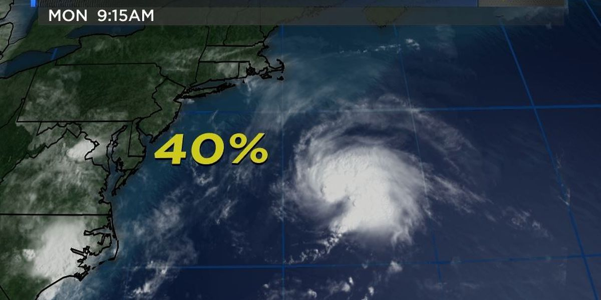 NHC: System along east coast has 40 percent chance of development