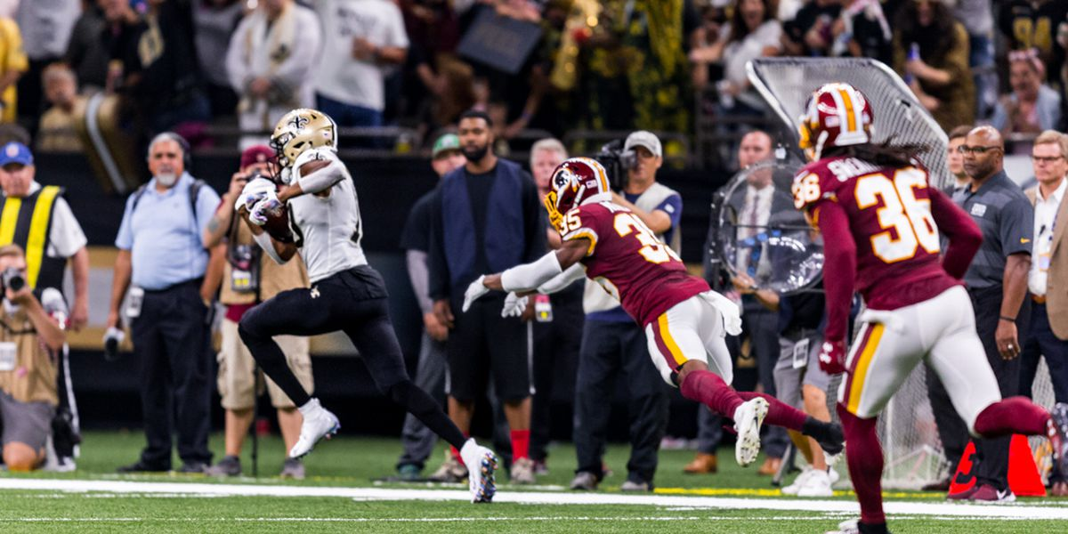 Rookie Tre'Quan Smith steps into the spotlight after catching Brees record-breaker