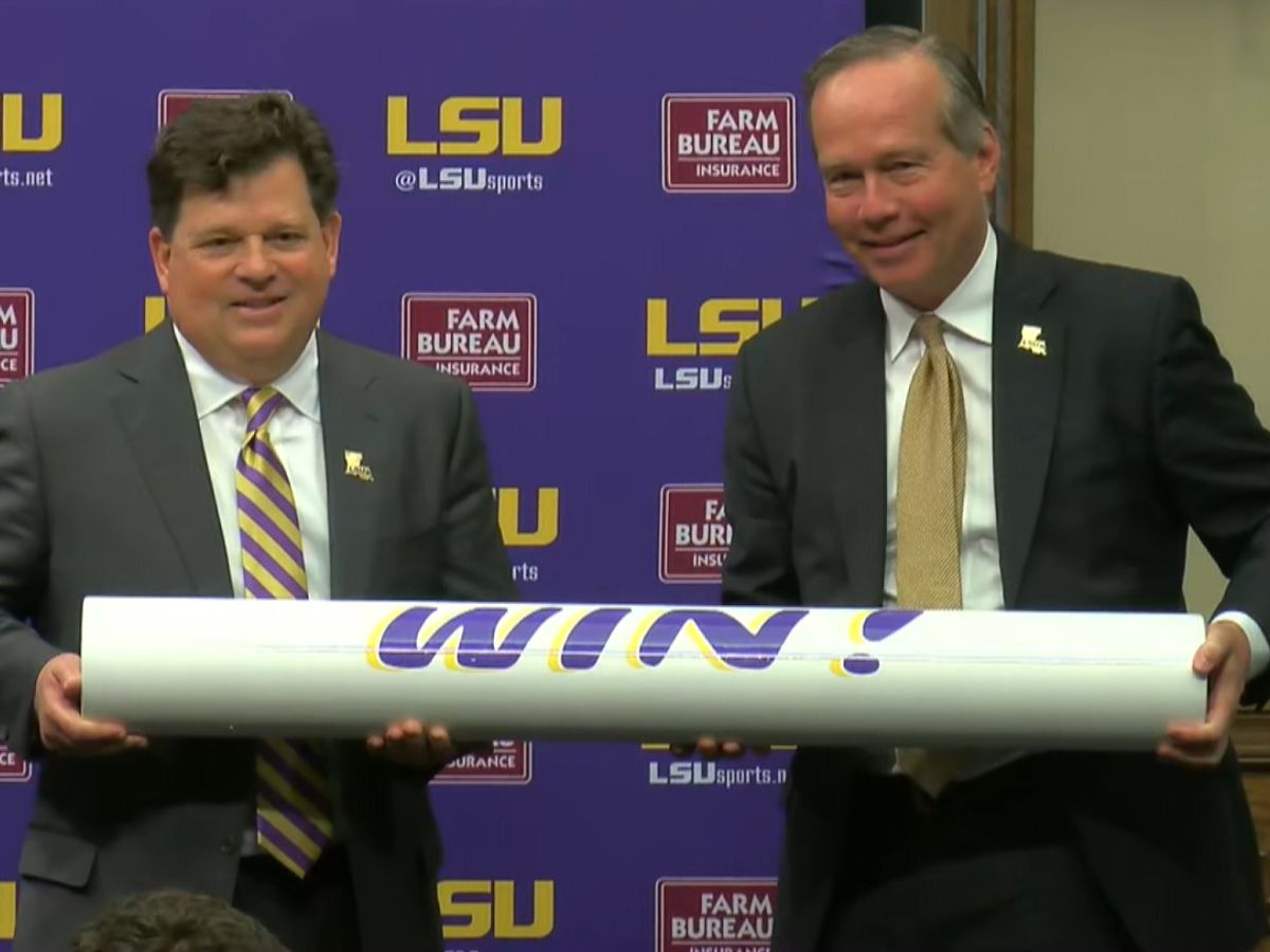 Scott Woodward showcases Louisiana roots, commitment to excellence in introduction