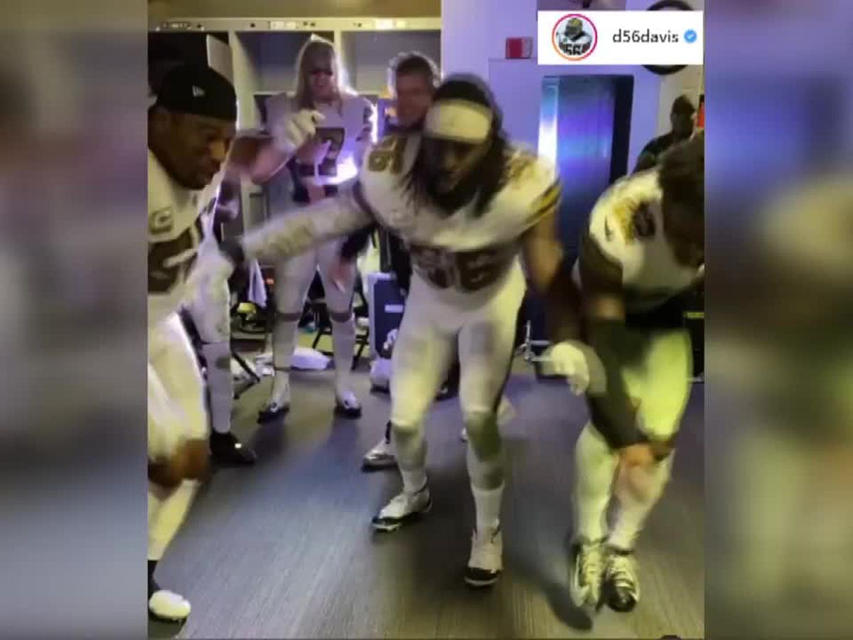 Saints fined, lose draft pick for not wearing masks in postgame locker celebration
