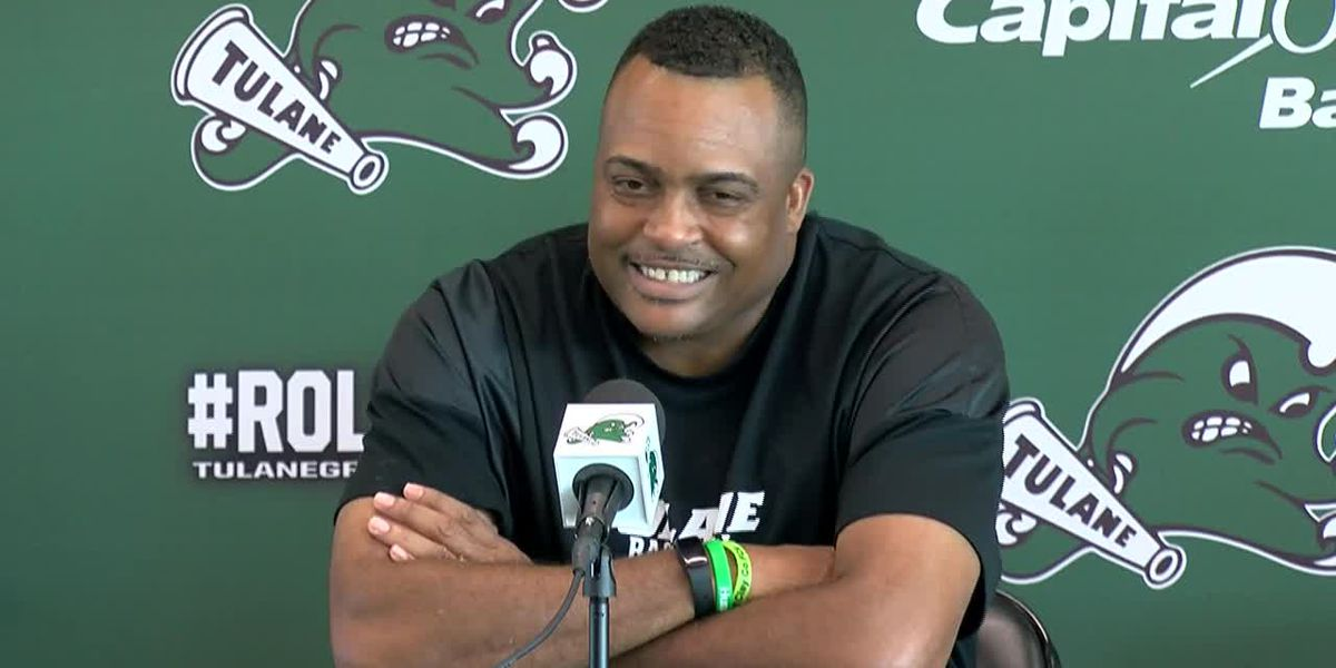 Coach Ron Hunter directs Tulane to a victory over SLU in his debut