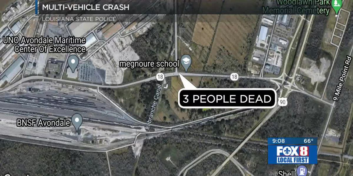 3 people dead after possible road rage incident