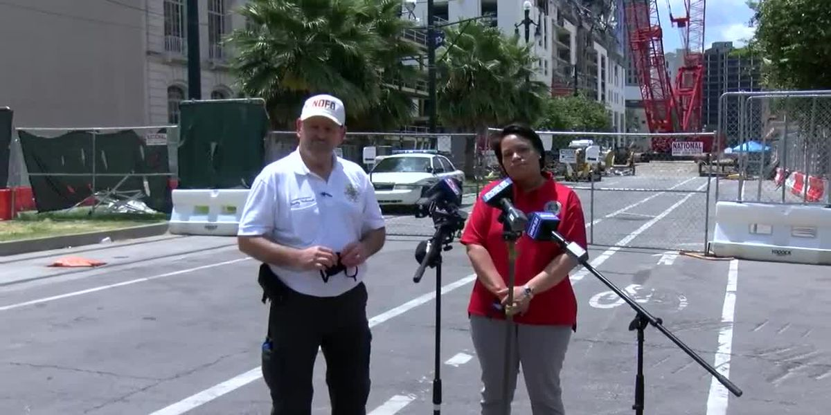Mayor Cantrell, NOFD news conference updating removal of remains at Hard Rock site