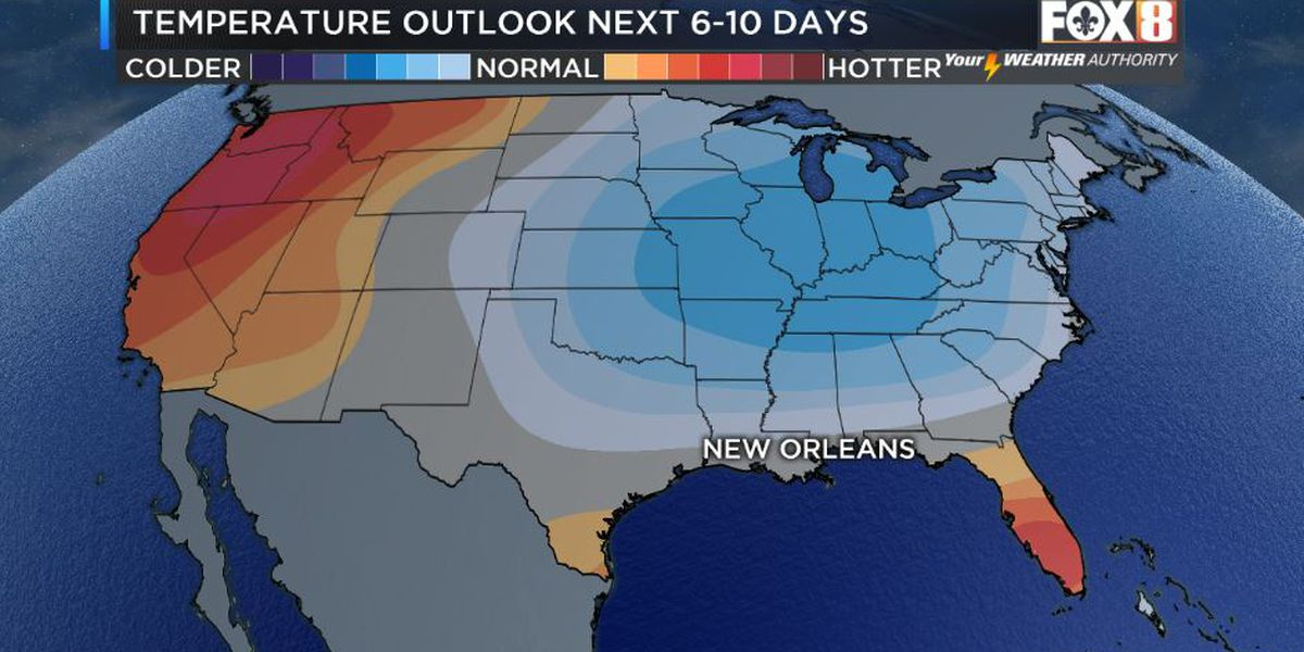 Summer cold front coming
