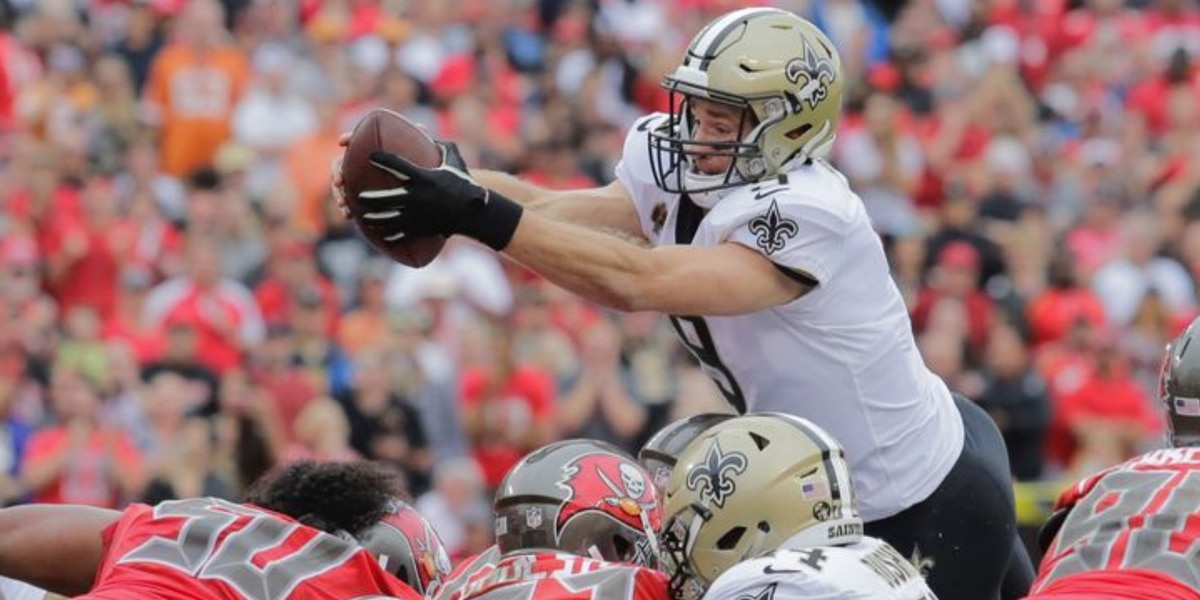 Brees is ready to re-establish the Saints identity for the upcoming season